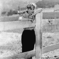 Carole on the ranch.