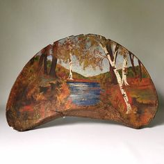 Your place to buy and sell all things handmade Organic Art, Christmas Wood, Fungi, Wood Carving, Painted Rocks, New England, Folk Art, Shops, Crafty