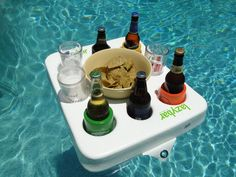 Floating Pool Drink Tray Kickass If Only I Had A Hot Tub