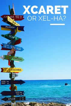 Xcaret or Xel-Há? A guide to choose the best attraction for you.