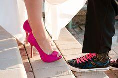 fun wedding shoesies