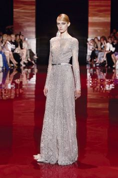 ELIE SAAB Haute Couture - AUTUMN/WINTER 2013 - 2014 Paris Fashion Week #PFW