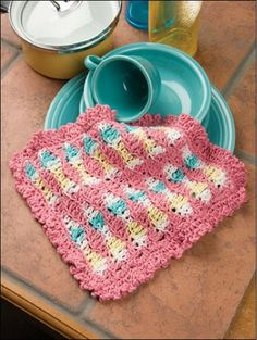 Picture of 2-Hour Dishcloths.  Maggie's
