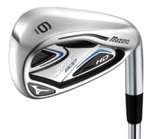 A nice set of golf clubs. These are Mizuno's game improvement irons