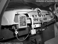 Taximeters 1950s.