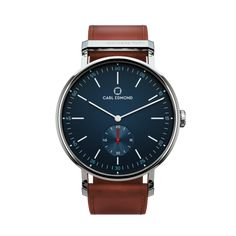 Ryolit – The Timeless, Elegant and Classic Round Watch Dark Brown Leather, Tan Leather, Fine Men, Watches For Men, Wrist Watches, Quartz, Mens Fashion, Classic, Quality Watches
