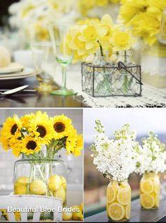 Quieres decorar de color amarillo.....mira que buenas ideas...