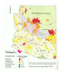 Young Volcanic Fields of Arizona - Wry Heat