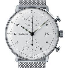 Junghans Max Bill Chronoscope Watch | Milanaise 027/4003.44