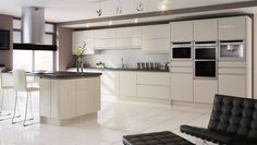 In-Line Gloss Ivory Kitchen