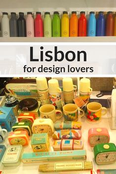 Lisbon Design Guide - Lisbon is the place to be at the moment and is great city for design lovers.   The Portuguese capital is happening, full of life, buzzing, exciting and unsurprisingly attracts a lot of visitors.  I spent a lot of my time in Lisbon just wandering the streets, impressed and touched by the beauty of its architecture and it's cool vibe. #lisbon #portugal #travel #design
