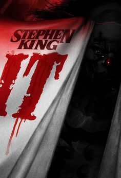 """Book Cover Illustration for Stephen King's """"IT""""."""