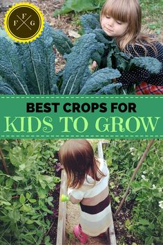 Fun & Easy Crops for Children to Grow