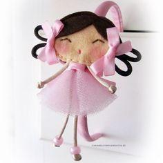 COMPLEMENTOS INFANTILES CARAMEL: DIADEMAS, TOCADOS, CORONAS Y COLETEROS: Diademas Infantiles My Doll Bailarina