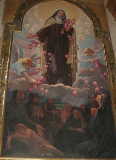 st therese of lisieux going to heaven | ... Angeli - Painting of St Thérèse of Lisieux | Flickr - Photo Sharing