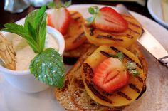 pessego + morango