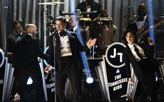 Justin Timberlake makes his return to the Grammy stage with a stellar performance! Listen to his station here: http://www.iheart.com/artist/Justin-Timberlake-34741/ #JustinTimberlake #SuitAndTie #JayZ #Grammys #iHeartRadio