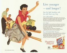 Eat Wheaties, live younger, live longer and improve your bowling game?!
