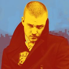 Justin Timberlake Pop Art 4
