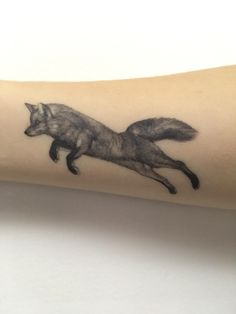 Running fox by Rayna done at Chronic Ink in Toronto Ontario