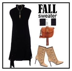 """""""wear it as a dress"""" by polychampion-805 ❤ liked on Polyvore featuring Brunello Cucinelli, Tamara Mellon, H&M, Kendra Scott, Altuzarra, contestentry and sleevelesssweater"""