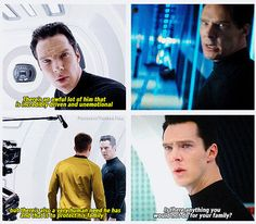 Because in the end, family is everything. I really did feel bad for Benedict's character, even though he tried killing the whole human race...