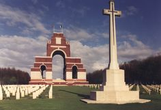 The Thiepval Memorial to the missing carries the names of 72,116 officers and men who fought at the Somme.
