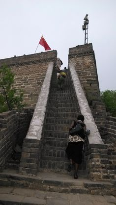 #Mutianyu #GreatWall is located in the Huairou District in #Beijing. It was built on the ruins of the Beiqi Great Wall under the supervise of the General Xu Da in the early age of Ming Dynasty. #Trekking