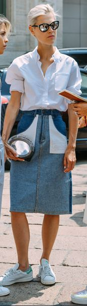 Tommy Ton Street Style - Menswear and Couture Fashion Week Casual Chic Outfits, Street Style Outfits, Looks Street Style, Looks Style, Style Me, Fashion Me Now, Mens Fashion Week, Look Fashion, Womens Fashion