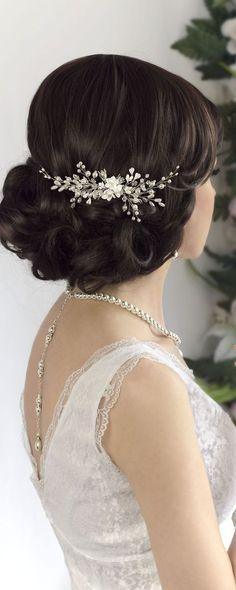 e4622d82c5a Bridal hair comb Bridal comb Pearl hair comb Wedding Hair piece Bridal  headpiece Bridal hair accessories Wedding Hair jewelry Wedding comb