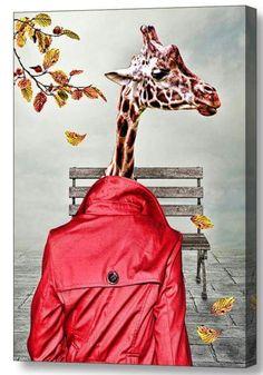 Giraffe longcoat art fantasy Artist miha