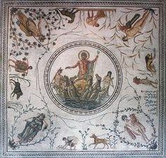 Neptune Mosaic from Tunis
