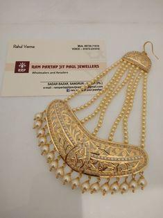 Gold Set Design, Gold Bangles Design, Gold Jewellery Design, Jewelry Design Earrings, Gold Earrings Designs, Stylish Jewelry, Fashion Jewelry, Jhumar, Bridal Jewelry Vintage