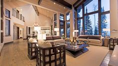Cozy mansion in the cabins #everivyclothing #home #decor #house #room #space