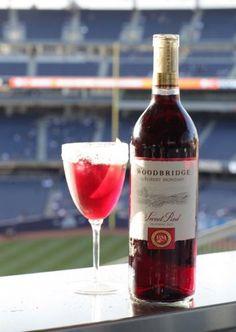 Summer Sweet Red Strawberry Sangria featuring Woodbridge by Robert Mondavi Sweet Red. #sweetred
