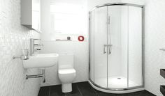 V10111084BO 5 Series Framed Quadrant Shower Enclosure 1000 X 1000mm front_angle rectangle largeTHIS IS A VERY GOOD OPTION _ AND GOOD PRICE BATHROOMS.COM
