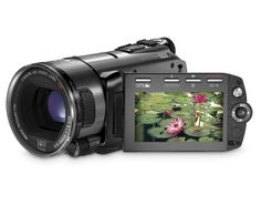 Canon VIXIA HFS100 HD Flash Memory Camcorder w/10x Optical Zoom > Price:$1,099.00 > Click on the image for details and offers.