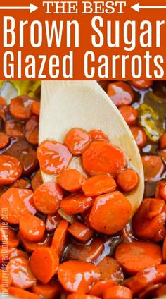I love these Brown Sugar Glazed Carrots. They are the perfect side dish. I love these Brown Sugar Glazed Carrots. They are the perfect side dish. Brown Sugar Glazed Carrots, Honey Glazed Carrots, Glazed Carrots Recipe Easy, Candied Carrots Recipe Brown Sugar, Crockpot Glazed Carrots, Honey Roasted Carrots, Carrot Dishes, Food Dishes, Side Dish Recipes
