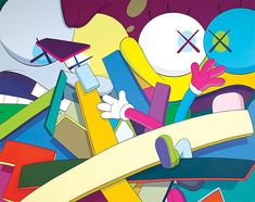 KAWS - Graffiti / Street Artist