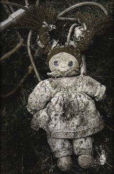 ..it.. it can't.. I found another one of Jenny's dolls.. how did it get all the way out here in the middle of the forest? could she still be alive?