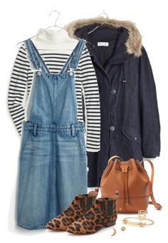 """""""Mix of goodies"""" by villasba ❤ liked on Polyvore featuring Madewell, J.Crew, women's clothing, women's fashion, women, female, woman, misses and juniors"""