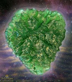 World Class Moldavite from our Secret Locality in the Czech Republic~ 41 carats | Arkadian Collection