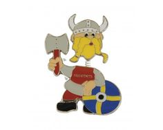 Ola Nesje Sweden Viking Magnet with Moving Head 21111 $4.75 FREE SHIPPING