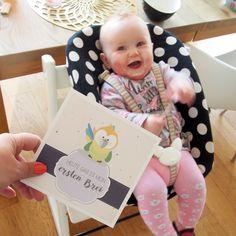 Lass es dir schmecken kleine Maus ❤️ Meilensteinkarten gibt's hier: www.omaMa-Shop.de