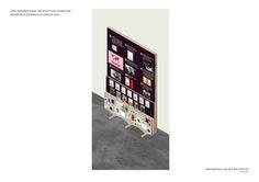 Venice Biennale 2014: Radical Pedagogies, Exhibit Design by Amunátegui Valdés Architects,Module
