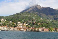 Passeio de Barco pelo lago di Como na Itália, Lombardia, abril de 2016.