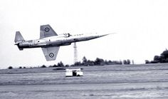 Old School Low Passes.Lockheed F-104 Starfighter down on the deck.