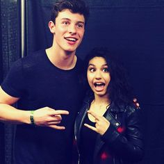 He's so much taller than Alessia Cara (don't kill me if that's not how you spell her name)