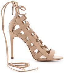 Aquazzura Amazon Lace-Up Strappy Sandal - Buy Online - Designer Sandals