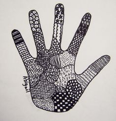 Great idea for end of year project! Mrs. Levine's Art Room : FIFTH GRADE . . . Leaving our hand prints in Lower...